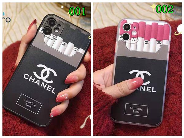 chanel タバコ型 iphone12/12 pro/12 miniケース