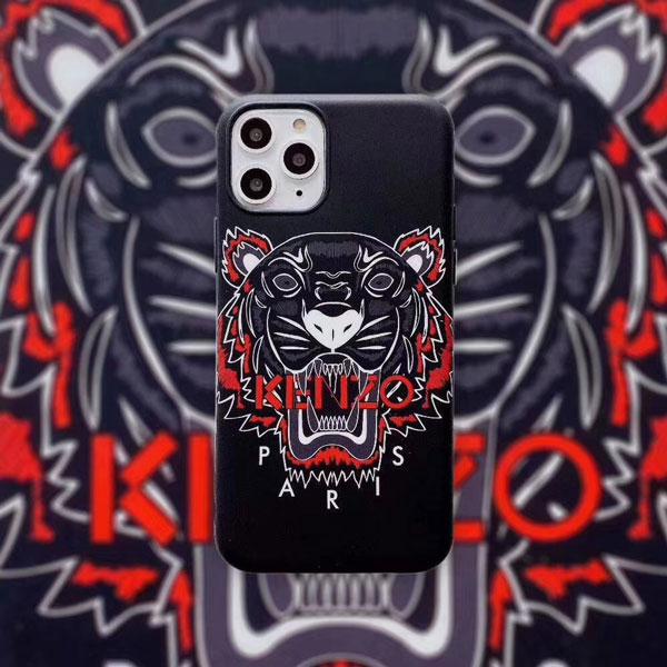 ケンゾー kenzo iphone12miniカバー パロディ アイフォン8プラスケース KENZO 薄型